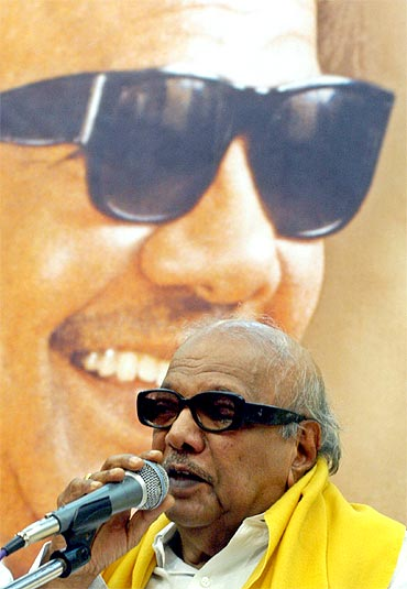 Tamil Nadu Chief Minister M Karunanidhi. The sheer joy of democracy will be lost if he wins the elections