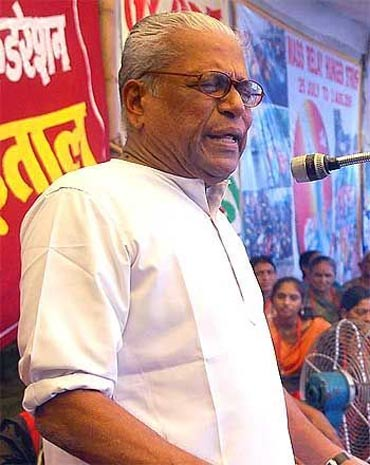 Kerala Chief Minister VS Achuthanandan has played a great innings during the election campaign