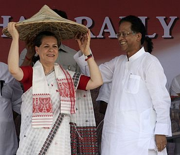 Gogoi enjoys the confidence of Sonia Gandhi and PM Dr Singh