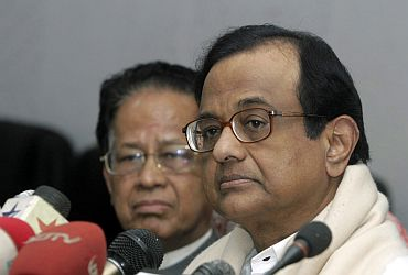 Gogoi with Home Minister P Chidambaram