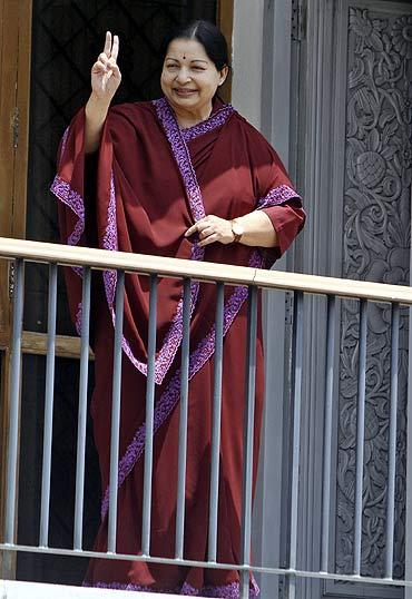AIADMK leader Jayalalithaa
