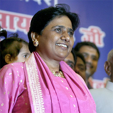 Mayawati: Uttar Pradesh CM