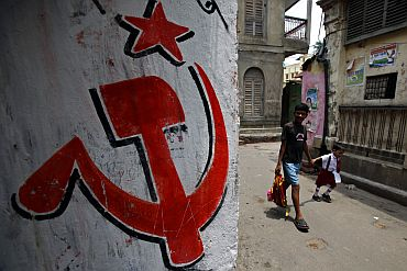 CPI-M's 34-year-old rule is set to come to an end in Bengal