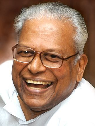 Kerala's outgoing chief minister and the LDF's titan, VS Achuthanandan