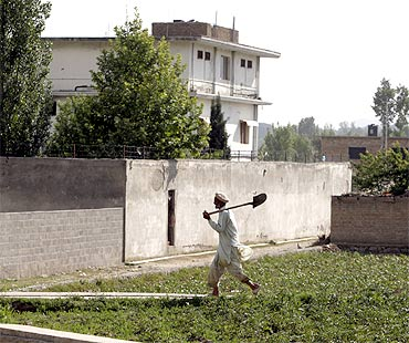 Osama bin Laden's mansion