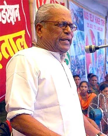 Outgoing Kerala CM Achuthanandan