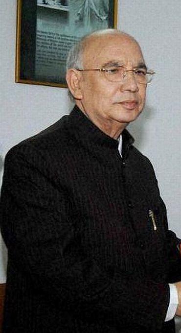 Karnatak Governor H R Bhardwaj