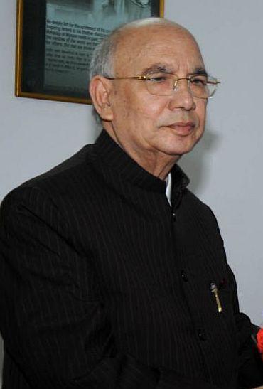 Governor H R Bharadwaj