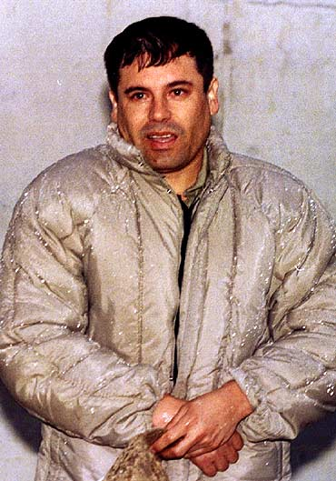 Joaquin 'Shorty' Guzman Loera is seen in Almoloya, Mexico's high-security jail, in this June 10, 2000 file photo