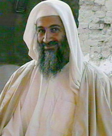 A file photo of Osama bin Laden