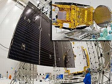 GSAT-8 being prepared for the launch