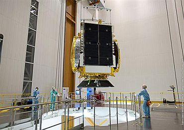 GSAT-8 has been integrated on the Ariane 5