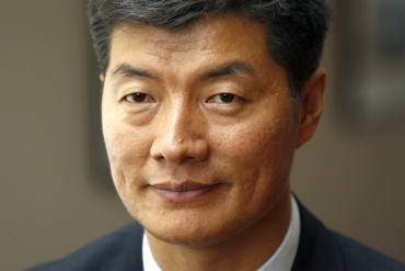 Lobsang Sangay, the new Kalon Tripa, or Tibetan prime minister-in-exile