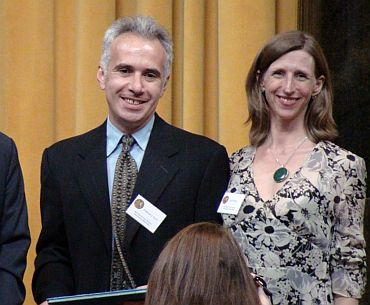 Clifford J Levy and Ellen Barry of The New York Times won the Pulitzer for International Reporting