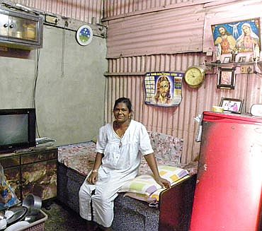 Zeta Fernandes has been living in Mahim's Girgaonkar Wadi for 12 years