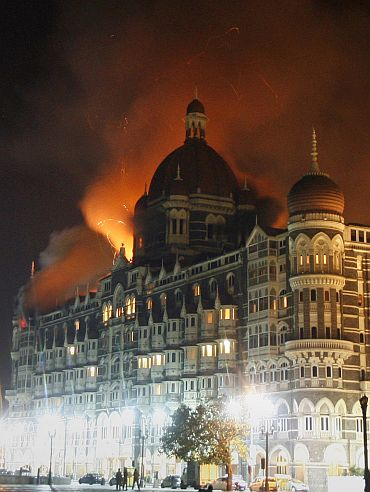 Mumbai's iconic Hotel Taj Mahal under terror attack in November 2008