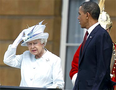 Obama's royal welcome to UK