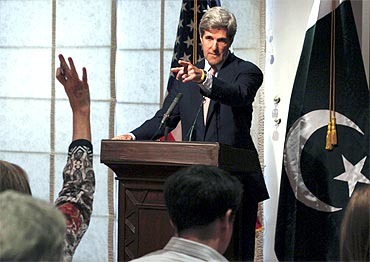 US Senate Foreign Relations Committee Chairman John Kerry