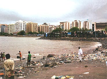 The landing site that David Headley located for the LeT terrorists in Mumbai