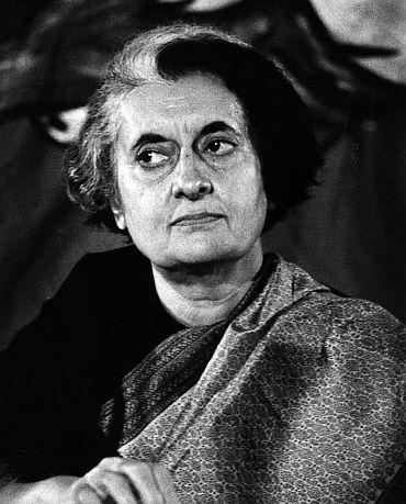 On Indira Gandhi's role