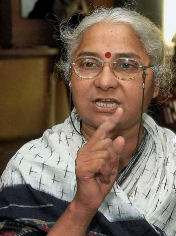 medha patkar Bharuch: social activist medha patkar took out a narmada bachao rally in bharuch on monday.