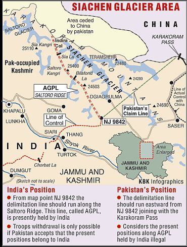 Siachen talks with Pak: Generals watch and hope