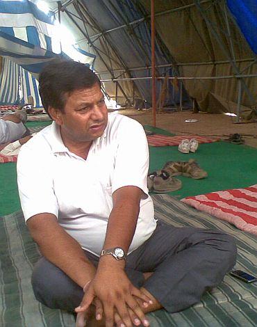 Delhi Jal Board chairman Santram Pradhan