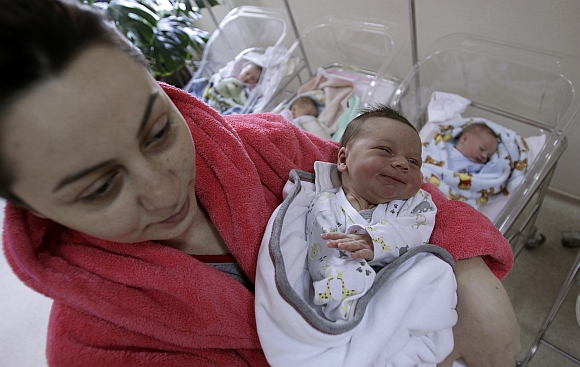 From UP to Ankara, world welcomes '7 billionth' babies
