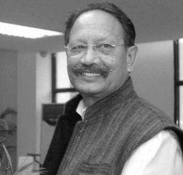 Uttarakhand Chief Minister B C Khanduri
