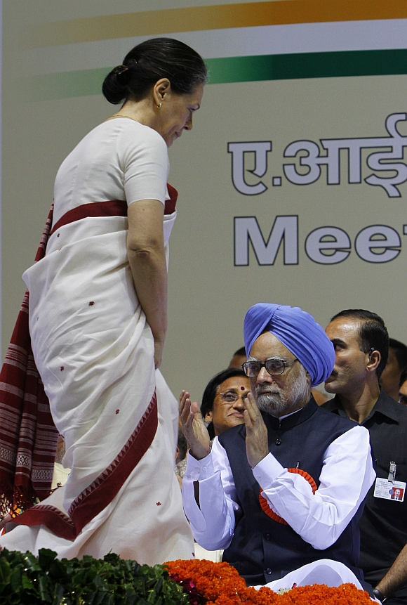 Congress President Sonia Gandhi is ranked 11th and Pm Singh 19th