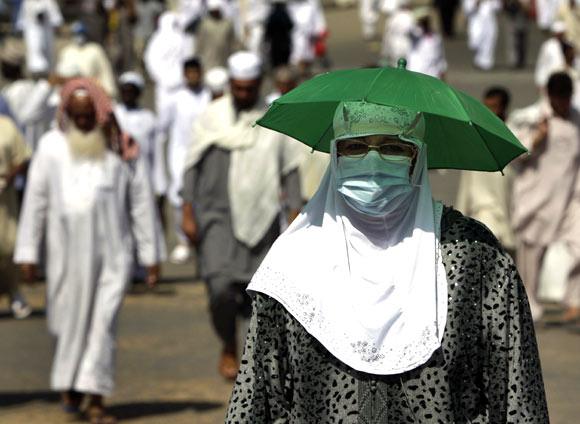 In PHOTOS: On Haj in the midst of Arab Spring