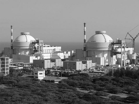 The Koodankulam nuclear power plant in Tamil Nadu