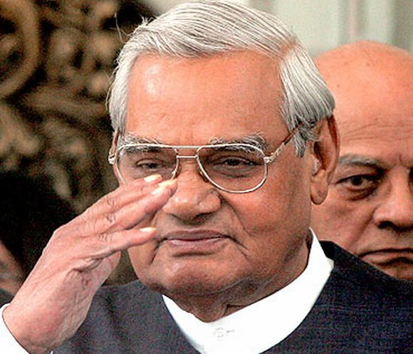 Former Prime Minister Atal Bihari Vajpayee