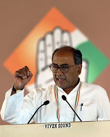 AICC general secretary Digvijaya Singh