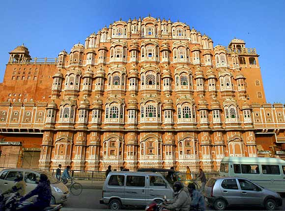 The Hawa Mahal in Jaipur