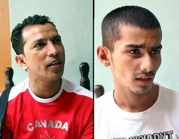 Shane Santos and Abhinash Solanki