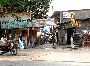 Valmiki Nagar, where the accused live