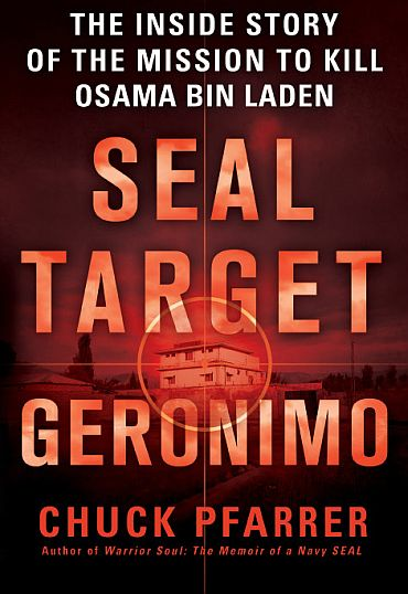 The cover of the book 'Seal Target Geronimo'