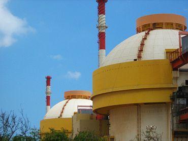 The Koodankulam nuclear plant