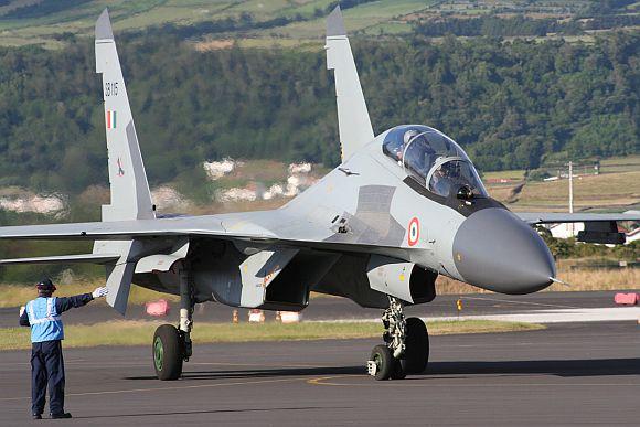 IAF's Sukhoi-30 MKI