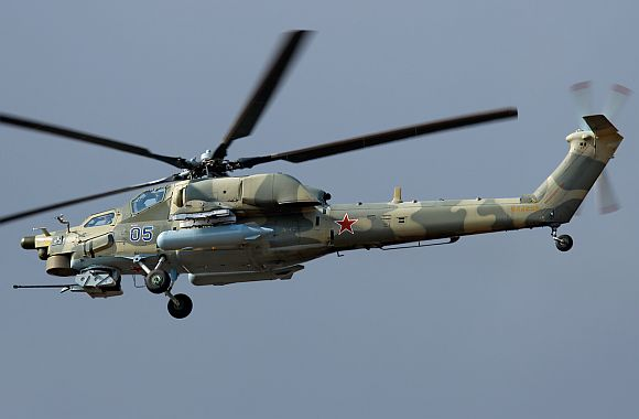 Russia's MI-28 N Night Hunter