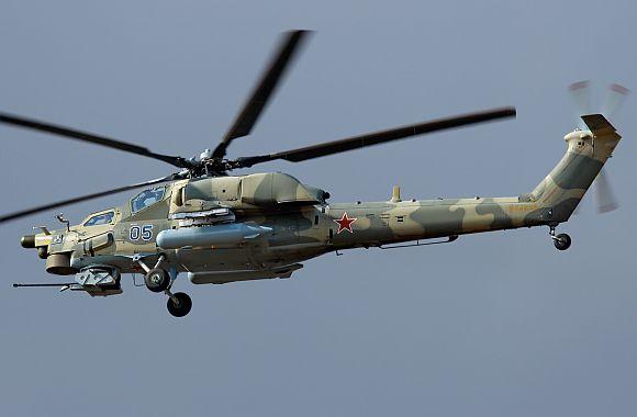 Russia's MI-28 N Night Hunter