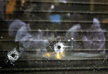 Mumbai's Cafe Leopold still has the bullet marks from that terrible night three years ago