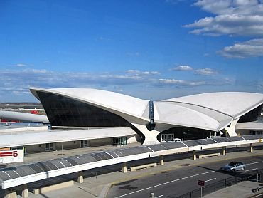 The JFK airport in New York