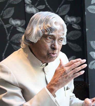 Former President A P J Abdul Kalam