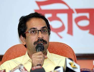 Shiv Sena executive president Uddhav Thakceray