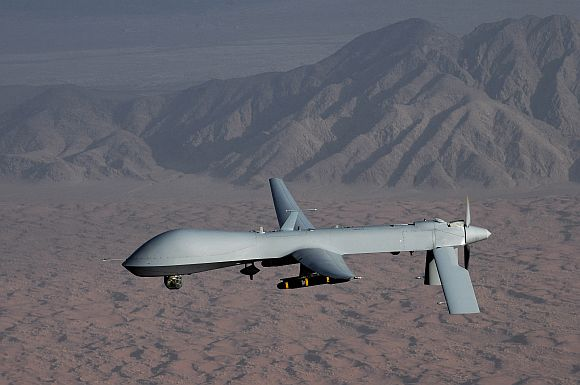 File image of an American Predator drone