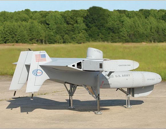 The Excalibur UAV from Aurora Flight Sciences