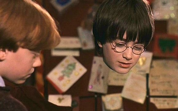 A scene from 'Harry Potter and the Sorcerer's Stone' shows the protagonist wearing an 'invisible cloak.' The report states scientists in Scotland are in the process of developing similar 'cloaks' using Metaflex.