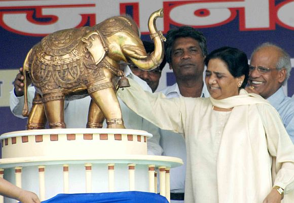 Uttar Pradesh Chief Minister Mayawati
